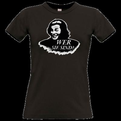 Motiv: T-Shirt Damen Premium FAIR WEAR - Spiele mit Bart - Wer Sie sind