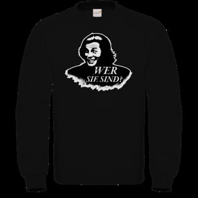 Motiv: Sweatshirt FAIR WEAR - Spiele mit Bart - Wer Sie sind