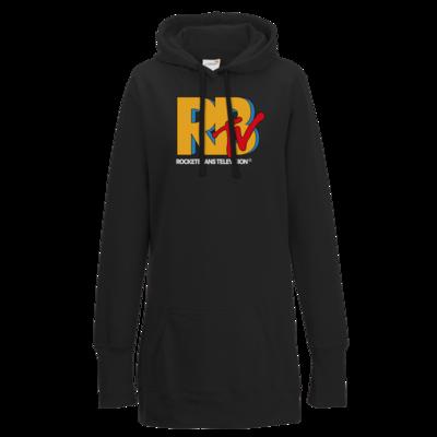Motiv: Lady Longline Hoodie - MTV Style Logo