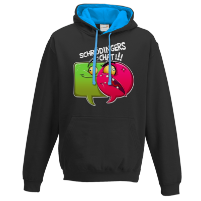 Motiv: Two-Tone Hoodie - Schroedingers Chat