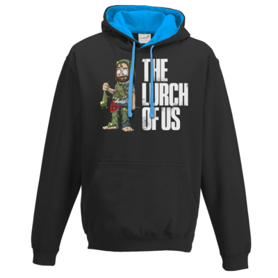 Motiv: Two-Tone Hoodie - The Lurch of us