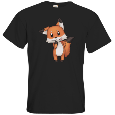 Motiv: T-Shirt Premium FAIR WEAR - Syrenia - Fox 1