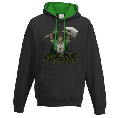 Motiv: Two-Tone Hoodie - Let's Plays - Echsitus