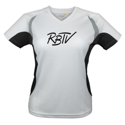 Motiv: Laufshirt Lady Running T - RBTV - Oldschool Logo