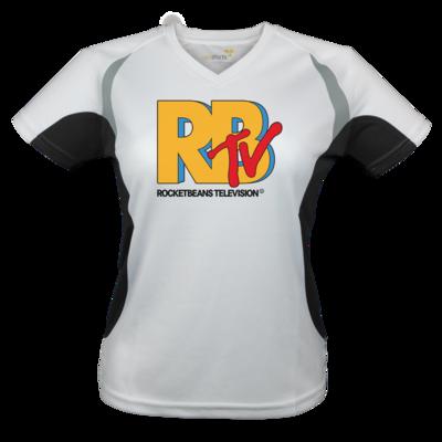Motiv: Laufshirt Lady Running T - MTV Style Logo