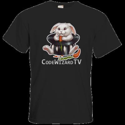 Motiv: T-Shirt Premium FAIR WEAR - CodeWizardTV - Moppel