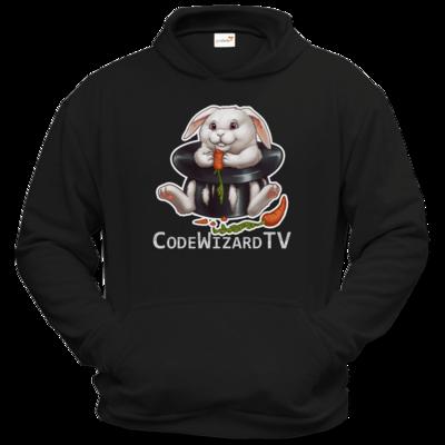 Motiv: Hoodie Classic - CodeWizardTV - Moppel