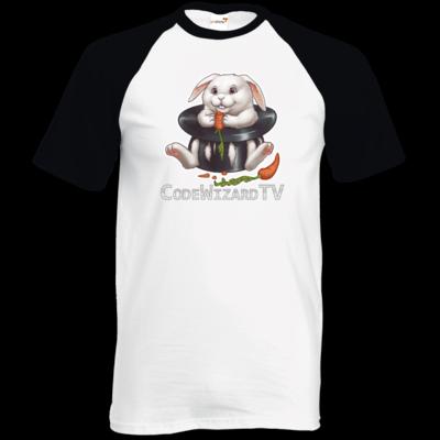 Motiv: TShirt Baseball - CodeWizardTV - Moppel