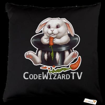 Motiv: Kissen Baumwolle - CodeWizardTV - Moppel