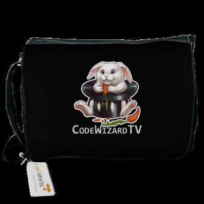 Motiv: Schultertasche - CodeWizardTV - Moppel