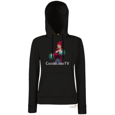 Motiv: Hoodie Damen Classic - CodeWizardTV - The Wizard