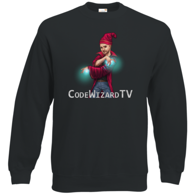 Motiv: Sweatshirt Classic - CodeWizardTV - The Wizard
