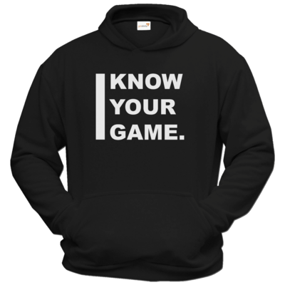 Motiv: Hoodie Classic - I Know Your Game