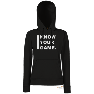 Motiv: Hoodie Damen Classic - I Know Your Game