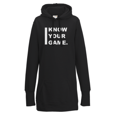 Motiv: Lady Longline Hoodie - I Know Your Game