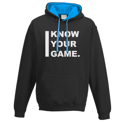 Motiv: Two-Tone Hoodie - I Know Your Game