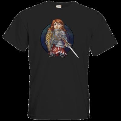Motiv: T-Shirt Premium FAIR WEAR - Götter - Rondra - Chibi