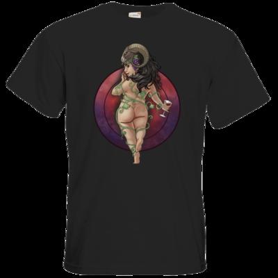 Motiv: T-Shirt Premium FAIR WEAR - Götter - Rahja - Chibi