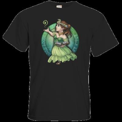Motiv: T-Shirt Premium FAIR WEAR - Götter - Hesinde - Chibi