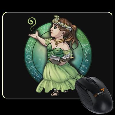 Motiv: Mousepad Textil - Götter - Hesinde - Chibi