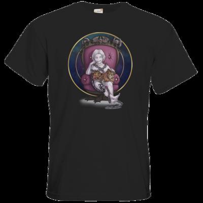 Motiv: T-Shirt Premium FAIR WEAR - Götter und Dämonen - Namenloser - Chibi