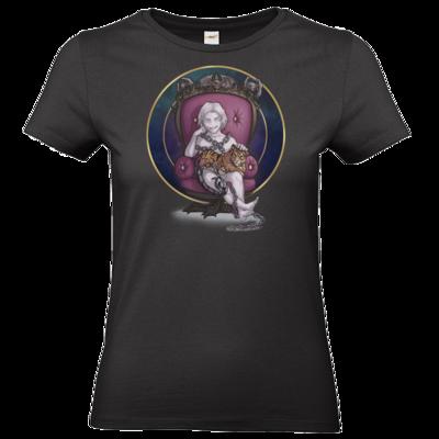 Motiv: T-Shirt Damen Premium FAIR WEAR - Götter und Dämonen - Namenloser - Chibi