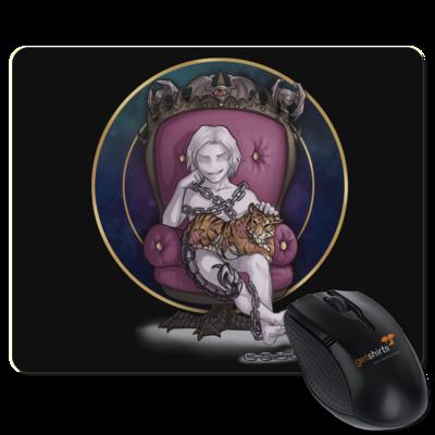 Motiv: Mousepad Textil - Götter und Dämonen - Namenloser - Chibi