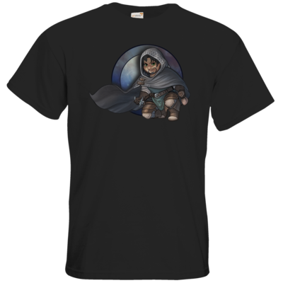 Motiv: T-Shirt Premium FAIR WEAR - Götter - Phex - Chibi
