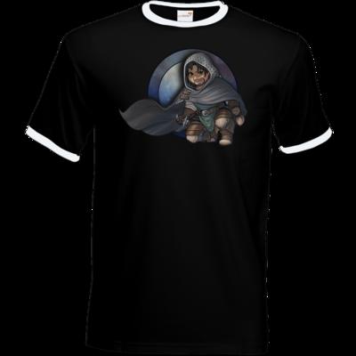 Motiv: T-Shirt Ringer - Götter - Phex - Chibi