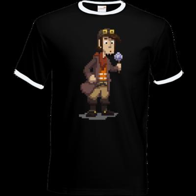 Motiv: T-Shirt Ringer - Deponia - Pixelrufus
