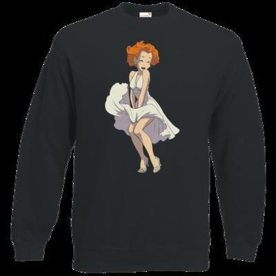 Motiv: Sweatshirt Classic - Deponia - Marilyn Monroe Goal