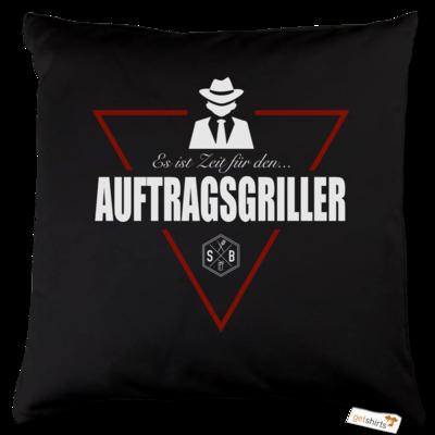 Motiv: Kissen Baumwolle - SizzleBrothers - Grillen - Auftragsgriller