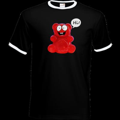 Motiv: T-Shirt Ringer - Lucky - Motiv 1