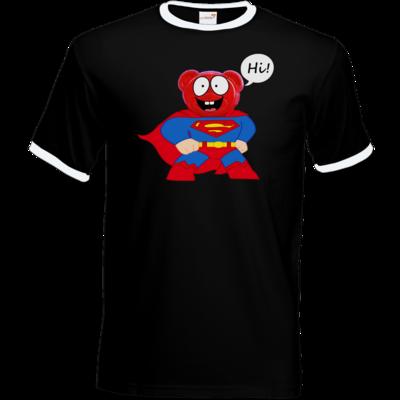 Motiv: T-Shirt Ringer - Lucky - Motiv 3