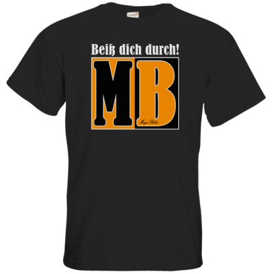 Motiv: T-Shirt Premium FAIR WEAR - Beiss dich durch
