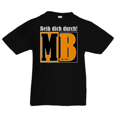 Motiv: Kids T-Shirt Premium FAIR WEAR - Beiss dich durch