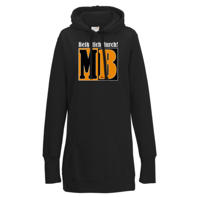 Motiv: Lady Longline Hoodie - Beiss dich durch