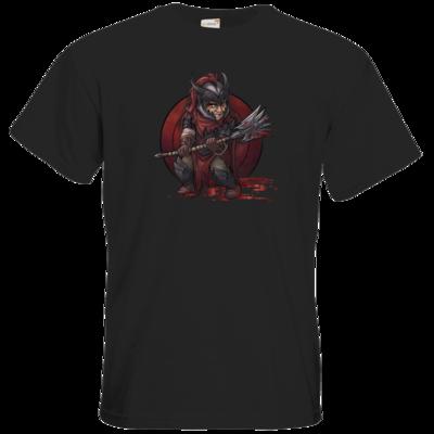 Motiv: T-Shirt Premium FAIR WEAR - Götter - Kor - Chibi