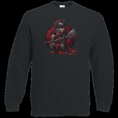Motiv: Sweatshirt Classic - Götter - Kor - Chibi