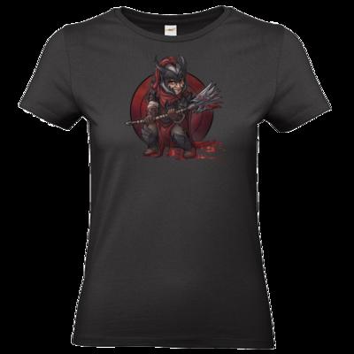Motiv: T-Shirt Damen Premium FAIR WEAR - Götter - Kor - Chibi