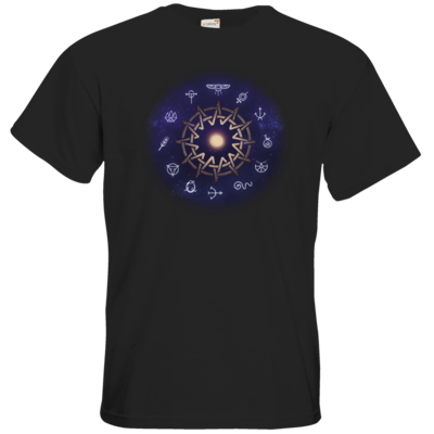 Motiv: T-Shirt Premium FAIR WEAR - Götter - Zwölfgötterkreis