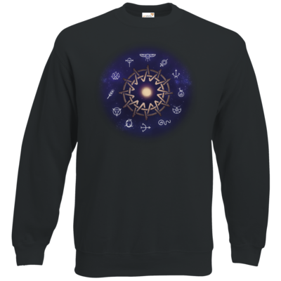 Motiv: Sweatshirt Classic - Götter - Zwölfgötterkreis