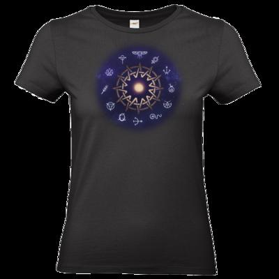 Motiv: T-Shirt Damen Premium FAIR WEAR - Götter - Zwölfgötterkreis