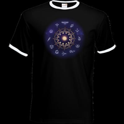 Motiv: T-Shirt Ringer - Götter - Zwölfgötterkreis