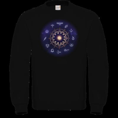 Motiv: Sweatshirt FAIR WEAR - Götter - Zwölfgötterkreis