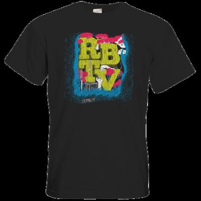 Motiv: T-Shirt Premium FAIR WEAR - Black Series - Wood