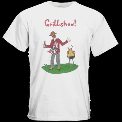 Motiv: T-Shirt Premium FAIR WEAR - Grillshow!