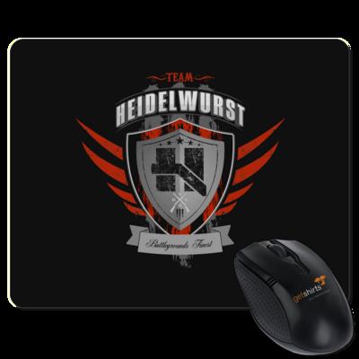 Motiv: Mousepad Textil - Team Heidelwurst