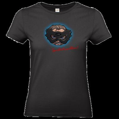 Motiv: T-Shirt Damen Premium FAIR WEAR - Let's Plays - Das Buch der Macht - Chibi - glow