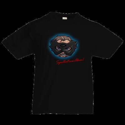 Motiv: Kids T-Shirt Premium FAIR WEAR - Let's Plays - Das Buch der Macht - Chibi - glow